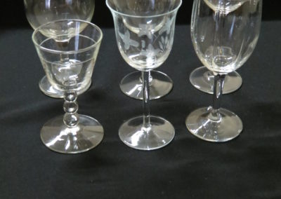 Glassware rental for Nevada County event
