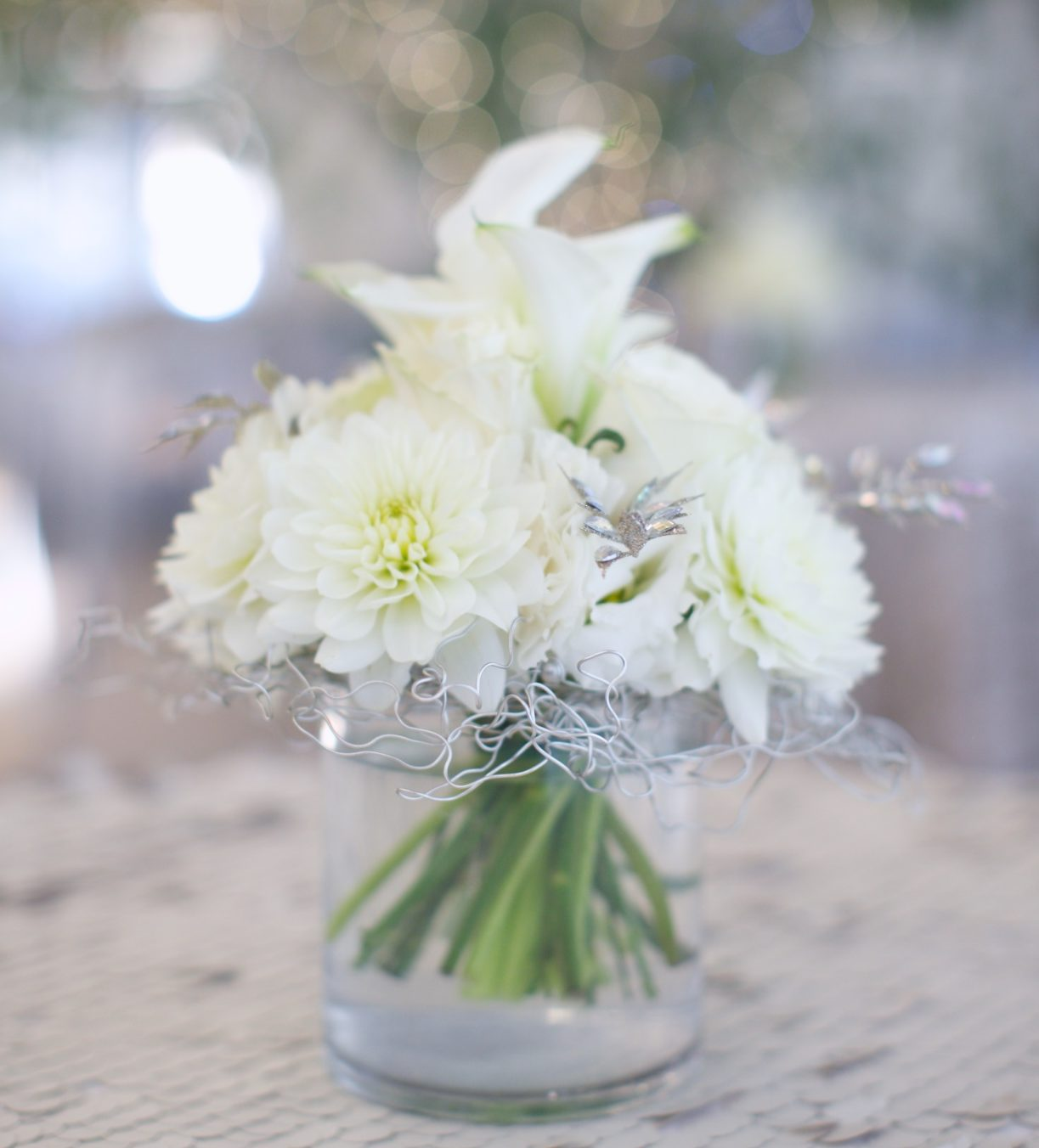 Wedding bouquet services at venue in Grass Valley CA